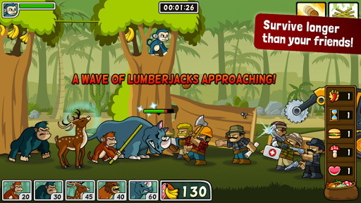 森林防御战